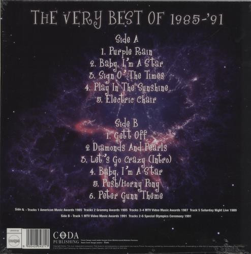PRINCE LP The Purple Era - Best of 85-91 (Purple Coloured Vinyl)