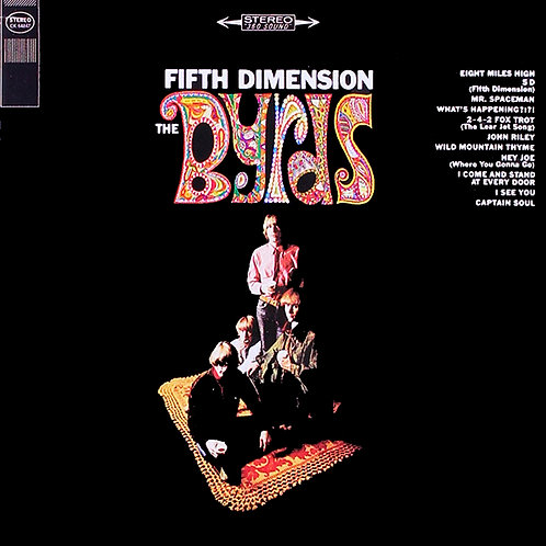 THE BYRDS CD Fifth Dimension + Bonus Tracks