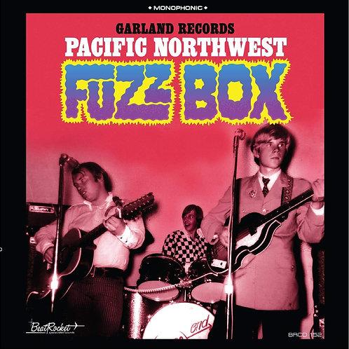 VARIOUS LP Garland Records: Pacific Northwest Fuzz Box (Blue Coloured Vinyl)