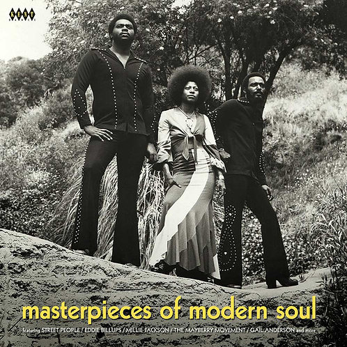 VARIOS LP Masterpieces Of Modern Soul