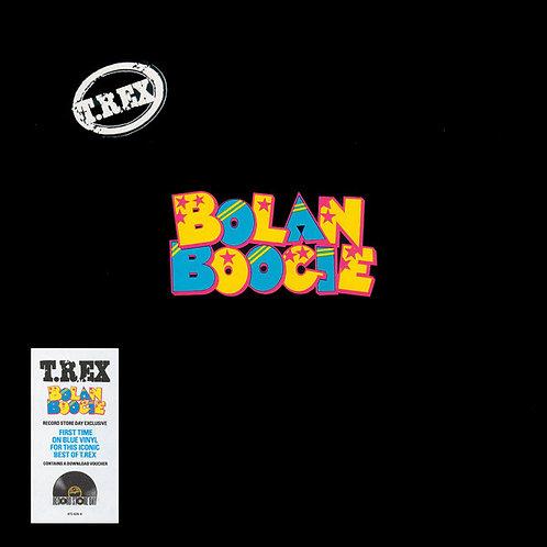 T. REX LP Bolan Boogie (Clear Blue Coloured Vinyl)