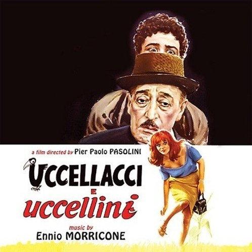 """ENNIO MORRICONE 10"""" Uccellacci E Uccellini"""
