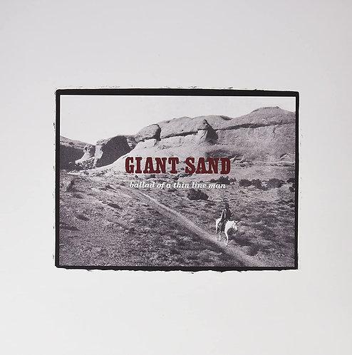 GIANT SAND LP Ballad Of A Thin Line Man
