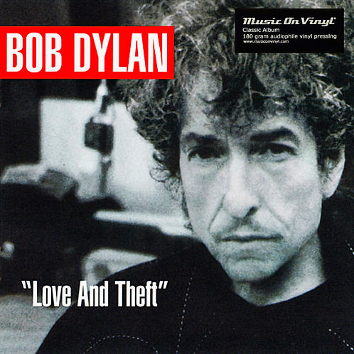 BOB DYLAN 2xLP Love And Theft (180 grams audiophile vinyl)