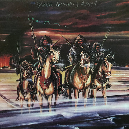 THE BAKER GURVITZ ARMY CD The Baker Gurvitz Army (Vinyl Replica Mini Lp)