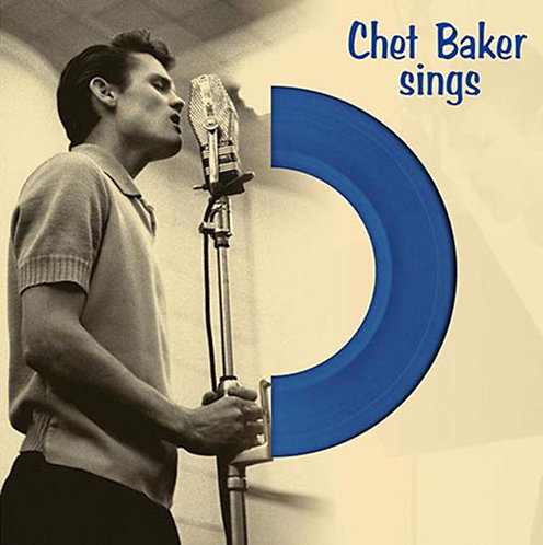 CHET BAKER LP Sings (Blue Coloured Vinyl)