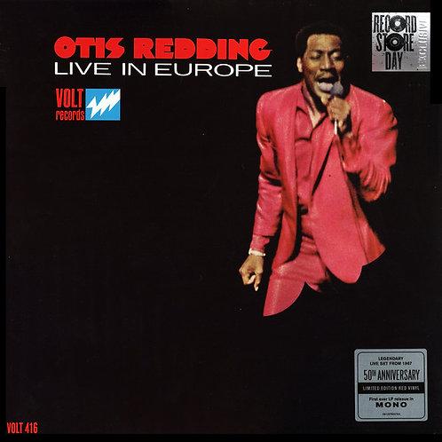 OTIS REDDING LP Otis Redding Live In Europe (Red Coloured Vinyl Black Friday)