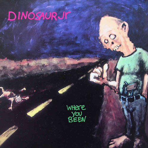 DINOSAUR JR. 2xLP Where You Been Deluxe Expanded Blue Coloured Vinyl