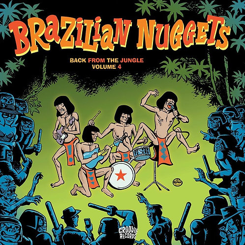 VARIOUS LP Brazilian Nuggets - Back From The Jungle Volume 4