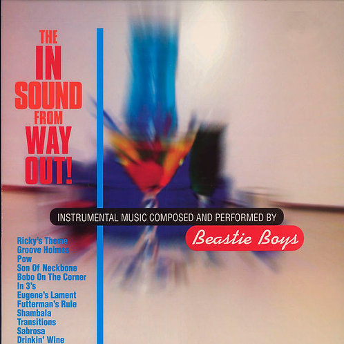 BEASTIE BOYS LP The In Sound From Way Out!