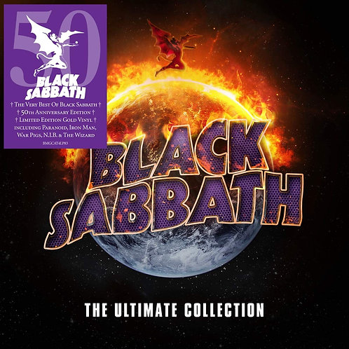 BLACK SABBATH 4xLP The Ultimate Collection (Limited 50th Anniversary Edition)