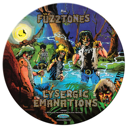 FUZZTONES LP Lysergic Emanations Picture Disc (RSD Drops 2020)
