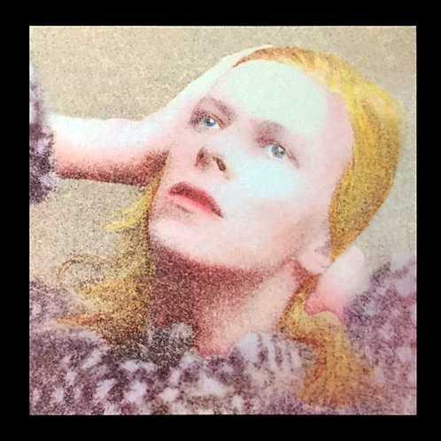 DAVID BOWIE LP Hunky Dory with Bonus Tracks (Brown Marbled Coloured Vinyl)