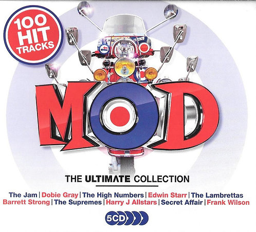 VARIOUS 5xCD Mod The Ultimate Collection
