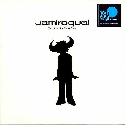 JAMIROQUAI 2xLP Emergency On Planet Earth