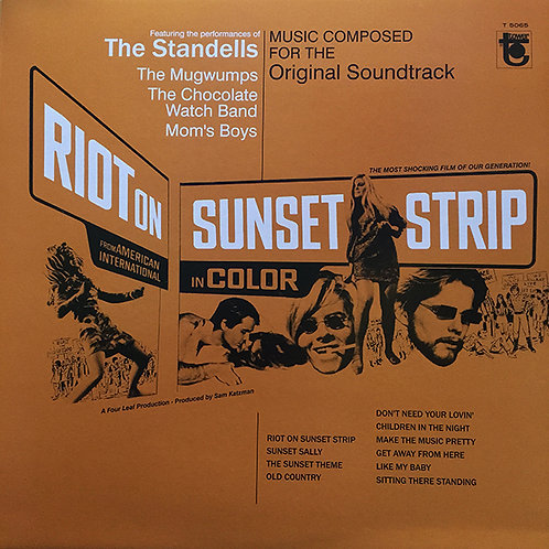 VARIOS LP Riot On Sunset Strip Original Soundtrack