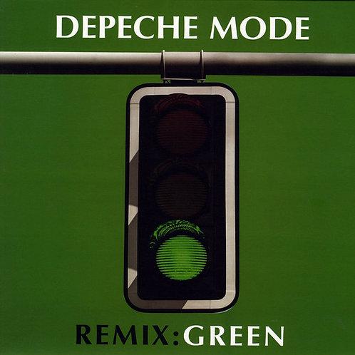 DEPECHE MODE LP Remix : Green
