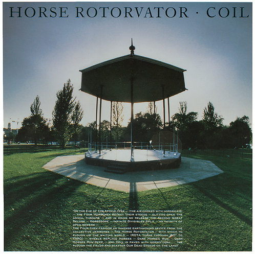 COIL LP Horse Rotorvator