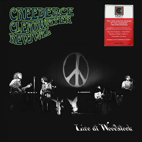CREEDENCE CLEARWATER REVIVAL 2xLP Live At Woodstock