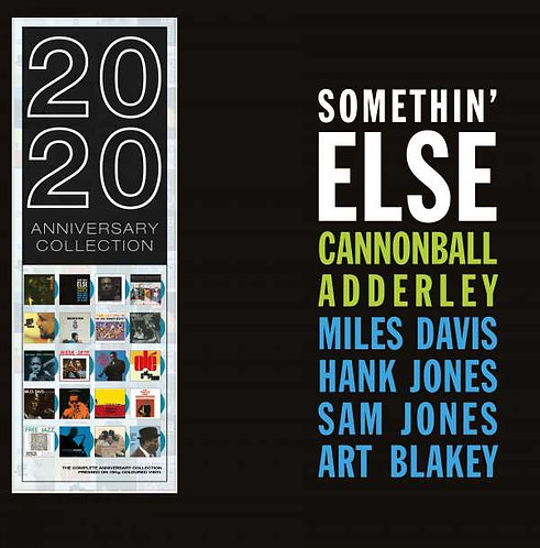 CANNONBALL ADDERLEY LP Somethin' Else (Blue Coloured Vinyl)