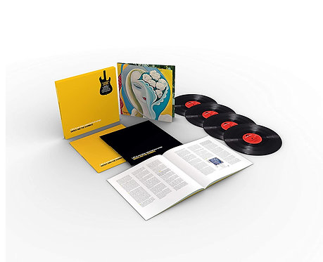 DEREK AND THE DOMINOS BOX SET 4xLP Layla And Other Assorted Love Songs 50th