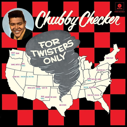 CHUBBY CHECKER LP For Twisters Only + Bonus Tracks