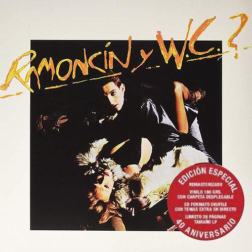 RAMONCIN Y WC? LP+CD+BOOK Ramoncín Y W.C.? (Edición Especial 40 Aniversario)