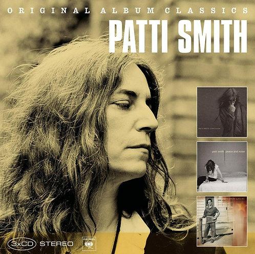 PATTI SMITH BOX SET 3xCD Original Album Classics