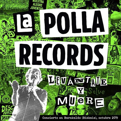 LA POLLA RECORDS 2xLP+DVD Levántate Y Muere