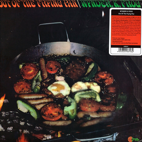 WYNDER K. FROG LP Out Of The Frying Pan