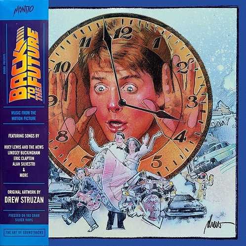 VARIOS LP Back To The Future Soundtrack (Delorean Silver Coloured Vinyl)