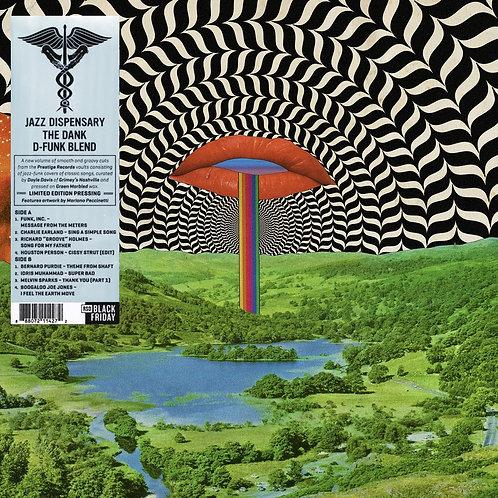VARIOS LP Jazz Dispensary: The Dank D-Funk Blend (Green Marbled Coloured Vinyl)