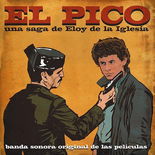 VARIOUS LP El Pico Banda Sonora Original (Crystal Effect Blood Coloured Vinyl)