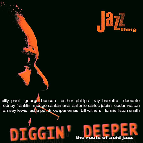 VARIOUS 2XLP Diggin' Deeper 1: The Roots Of Acid Jazz