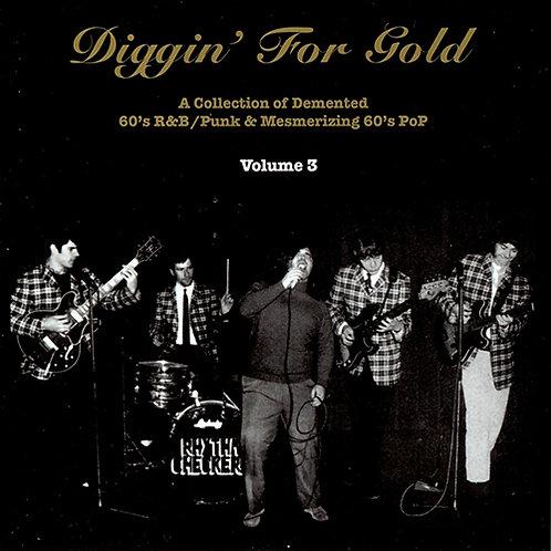 VARIOUS CD Diggin' For Gold Volume 3