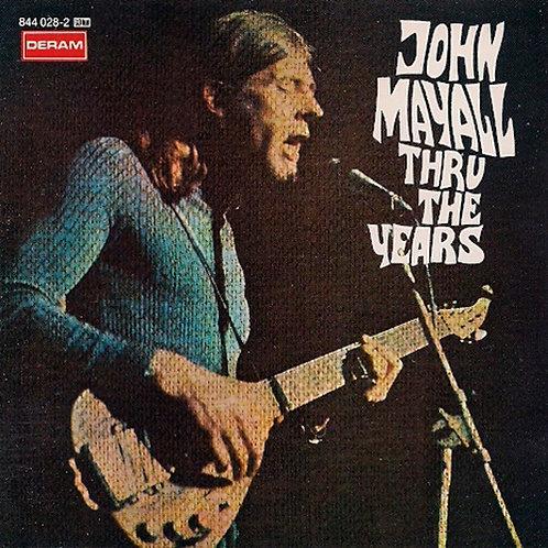 JOHN MAYALL CD Thru The Years