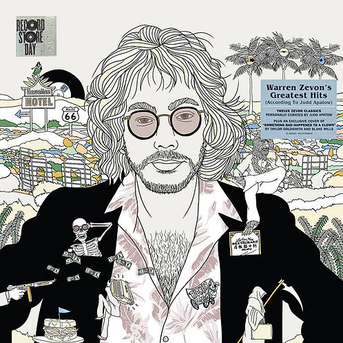 WARREN ZEVON LP Greatest Hits (According To Judd Apatow) (RSD Drops October 2020