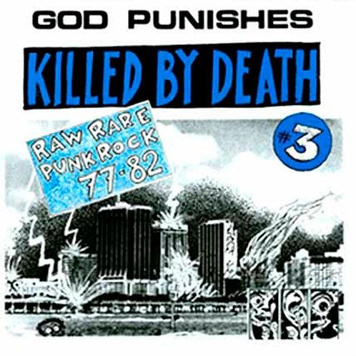 VARIOUS LP Killed By Death #3 (Rare Punk 77-82)