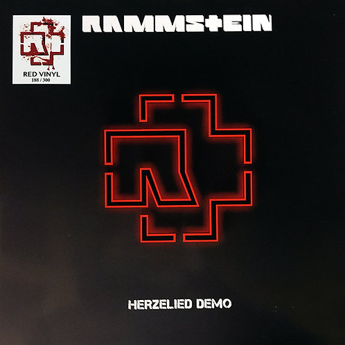 RAMMSTEIN LP Herzeleid Demo Herzelied (Red Coloured Vinyl)
