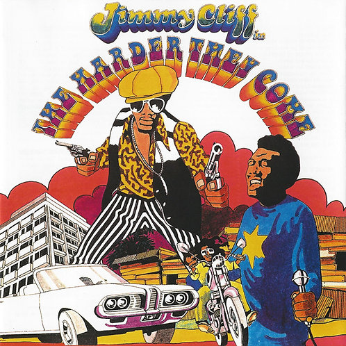 JIMMY CLIFF CD The Harder They Come - Original Soundtrack Recording