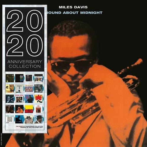 MILES DAVIS LP 'Round About Midnight (Blue Coloured Vinyl)