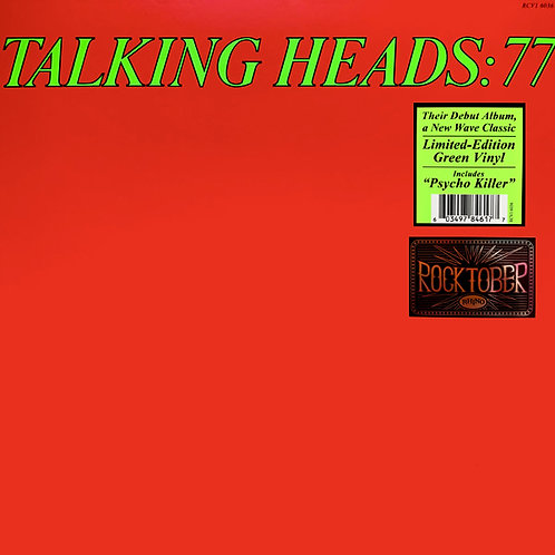 TALKING HEADS LP Talking Heads: 77 (Green Coloured Vinyl)