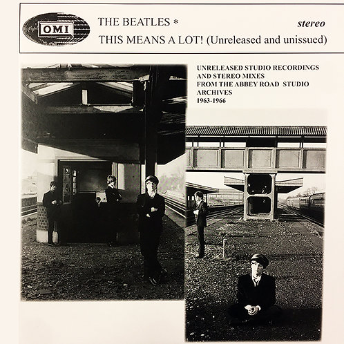 BEATLES LP This Means A Lot! (Unreleased and unissued)