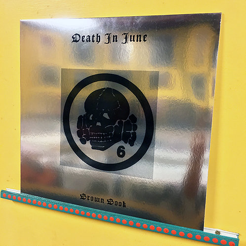 DEATH IN JUNE LP Brown Book (Silver Cover Green Coloured Vinyl)