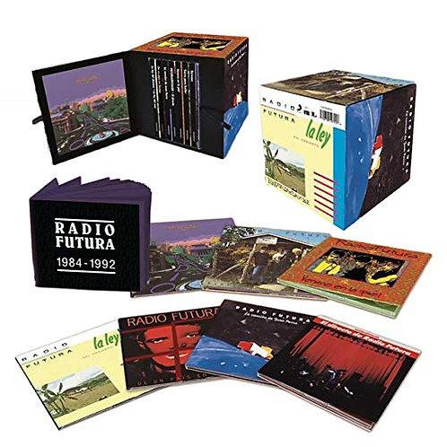 RADIO FUTURA 7xCD BOX SET De Un País En Llamas (Red Coloured Vin