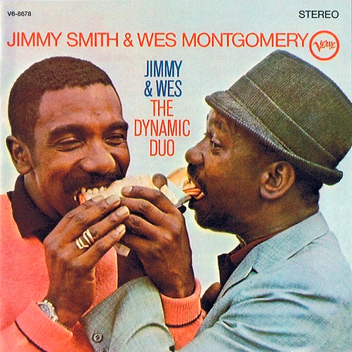 JIMMY SMITH & WES MONTGOMERY CD The Dynamic Duo