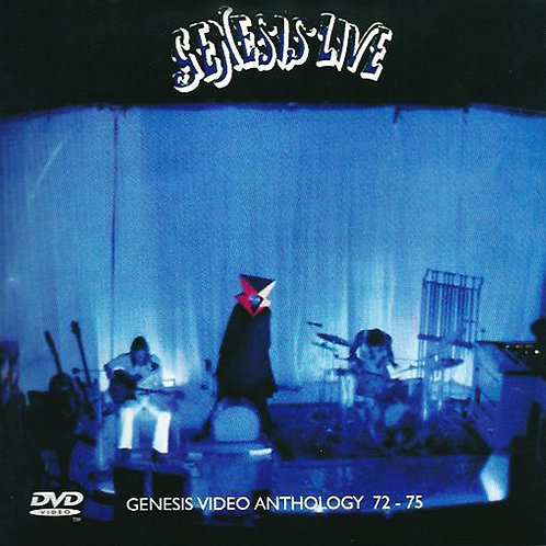 GENESIS CD+DVD Live/Video Anthology 72 - 75