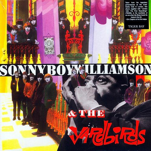 YARDBIRDS LP Sonny Boy Williamson & The Yardbirds