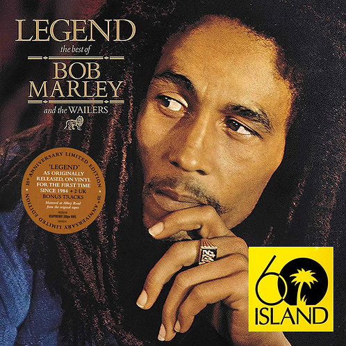 BOB MARLEY 2xLP Legend - The Best Of Bob Marley (35th Anniversary Edition)