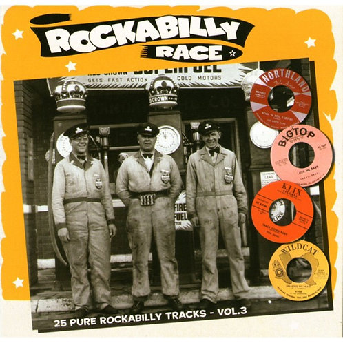 VARIOS CD Rockabilly Race Vol 3 (25 Pure 50'S Rockabilly Tracks)
